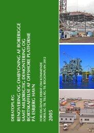 Debatoplæg - Offshore Center Danmark