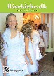 Kirkeblad for marts · april · maj 2012 Scan QR koden og ... - Rise Kirke