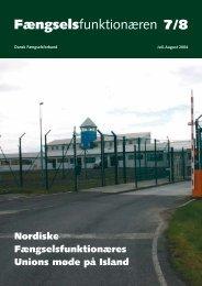 Profil af en afdelings- formand - Fængselsforbundet