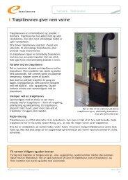 Træpilleovnen giver nem varme - Energitjenesten