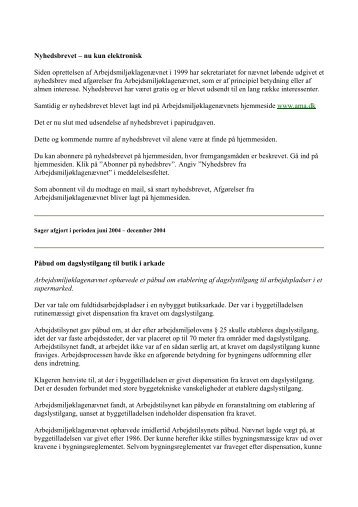 Nyhedsbrev fra AMK 1. kvartal 2005