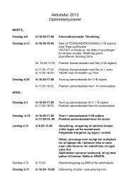 Se og udskriv aktiviteter - Marstal Sejlklub