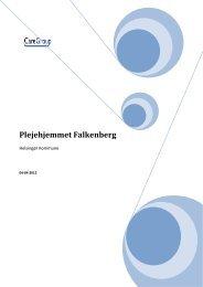 Falkenberg – uanmeldt kommunalt tilsyn 2012 - Plejehjemmet ...