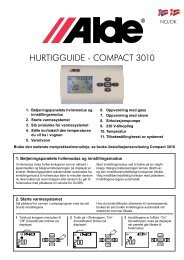 HURTIGGUIDE - CompaCT 3010