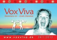 www . voxviva . dk 2 0 1 1 / 2 0 1 2 - Move'n Act