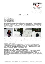 Nyhedsbrev nr. 7 – 2012-2013 - Ollerup Efterskole