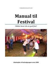 Manual til Festival - Nybrogård Kollegiet
