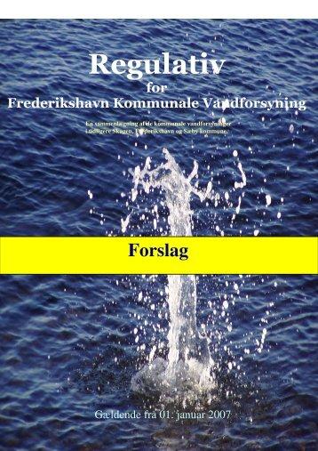 061025 pkt 11 B1 Regulativ for Frederikhavn Kommunale ...