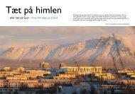 Tæt på himlen - Island i den mørke blågrå vinter - HenningsenCo
