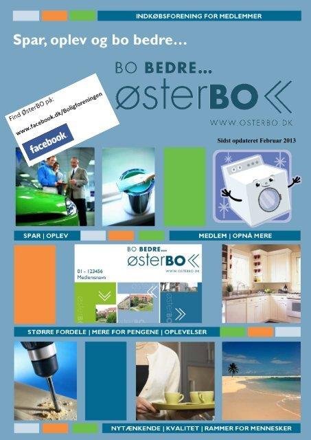 Brochure om ØsterBOs indkøbsforening for medlemmer