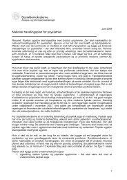 Socialdemokraterne National handlingsplan for psykiatrien - Politiken