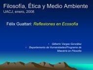 Filosofía, Ética y Medio Ambiente