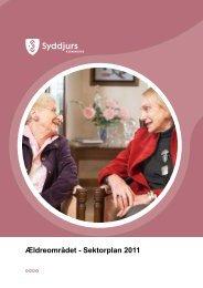 Ældreområdet - Sektorplan 2011 - Syddjurs Kommune
