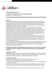 Unterrichtasanregungen Unterstufe - Stiftung Bildung und Entwicklung