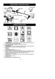 forklaring (hvad er hvad?) symbolforklaring - Electrolux-ui.com