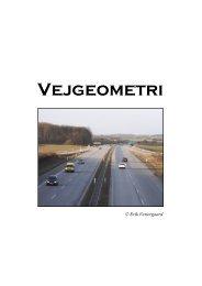 Vejgeometri - Vestergaards Matematik Sider