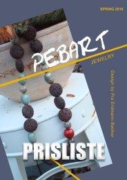 Katalog prisliste A5 blå spring 2010 - Peb Art