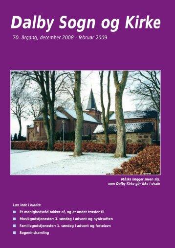 December 2008 - Dalby kirke