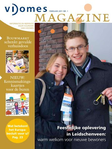 Magazine 1 - Vidomes
