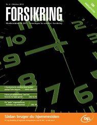 Forsikring 6-2012 - DFL