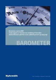 Skal topskat og rentefradrag afskaffes i 2010? - Nykredit Barometer