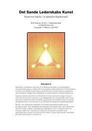 Det Sande Lederskabs Kunst - Gaia Consciousness Institute
