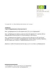 AFGØRELSE i sag om miljøgodkendelse af Ravning Fiskeri II Natur ...