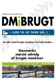 LIGE TIL AT TAGE UD..! - Dansk Maskinhandel