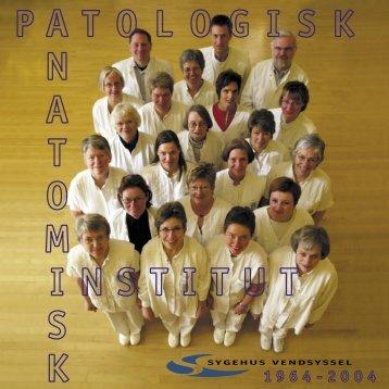 Jubilæumsskrift - Patologisk Institut 1964-2004 - Sygehus Vendsyssel