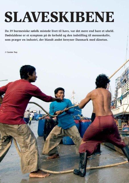 Da 39 burmesiske søfolk mistede livet til havs, var det ... - UDSYN