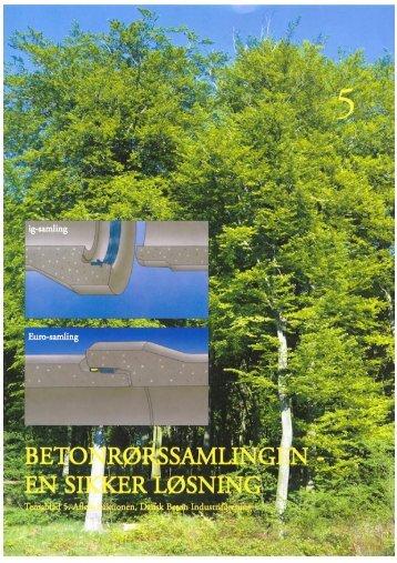 Fleksible betonrørssamlinger - Dansk Byggeri