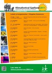 Lokale arrangementer i Slagelse Kommune