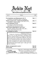 24 2006-2 (PDF) - Vinderup Egnshistoriske Forening