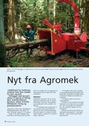 Nyt fra Agromek - Dansk Skovforening