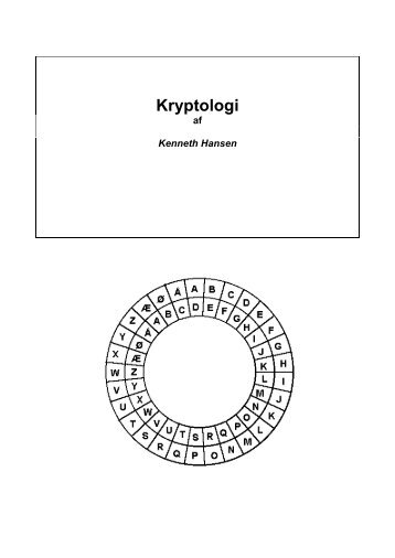 Kryptologi - KennethHansen.net