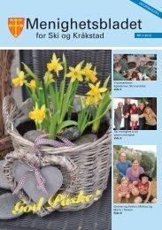 Menighetsbladet Nr. 1 2012 - Ski kirkelige fellesråd - Den norske kirke