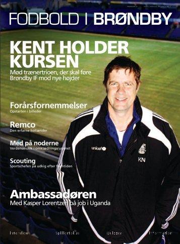 FODBOLD I BRØNDBY KENT HOLDER KURSEN