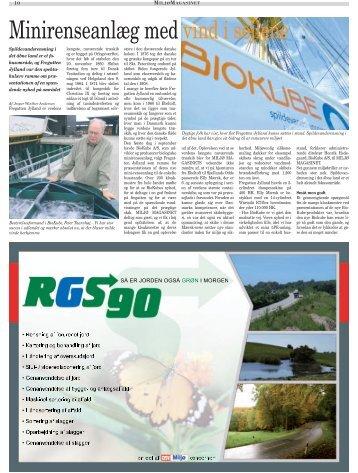 Minirenseanlæg med vind i sejlene - Spørgsmål om BioKube?