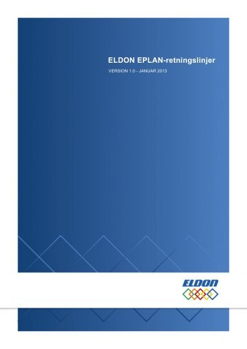 Instruktionsmanual - Eldon