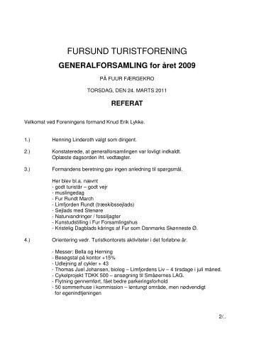 FURSUND TURISTFORENING - FurNyt.dk