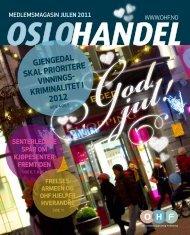 MEDLEMSMAGASIN Julen 2011 Www.ohf - Oslo Handelsstands ...