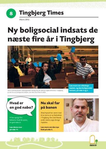 Ny boligsocial indsats de næste fire år i Tingbjerg - Tingbjerg Forum