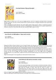 Skolepakke+ Uge 49-51, Beskrivelser - Biblioteksmedier as
