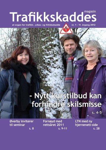 Trafikkskaddes magasin nr. 1 - Personskadeforbundet LTN