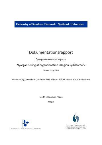 Region Syddanmark - Dansk Center for Organdonation
