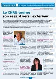 La politique d'extériorisation - CHU Montpellier