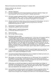 Referat af bestyrelsesmøde afholdt mandag den 10 - Hvidovre ...