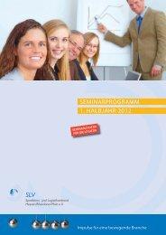 seminarprogramm 1. halbjahr 2012 - Servicegesellschaft Spedition ...