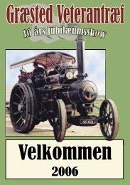 Brochure for Veterantræf - kræmmer og stumpemarked. ( PDF )