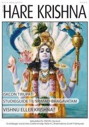 Hvem kom først, Vishnu eller Krishna? - Nyt fra Hare Krishna